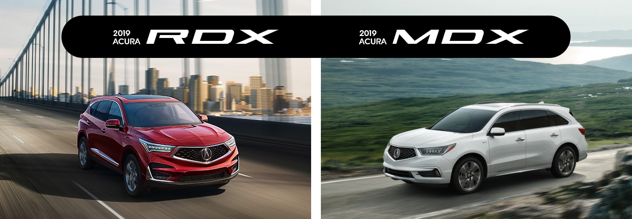 Acura Rdx Vs Mdx >> 2019 Acura Rdx Vs 2019 Acura Mdx Head To Head Comparison